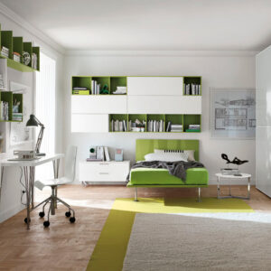 Teenager bedrooms: composition T05